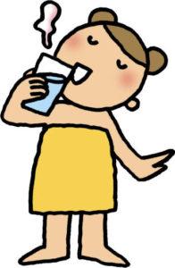 燃転おすすめ読本(電気編)画像子供お湯を飲むイラスト_S
